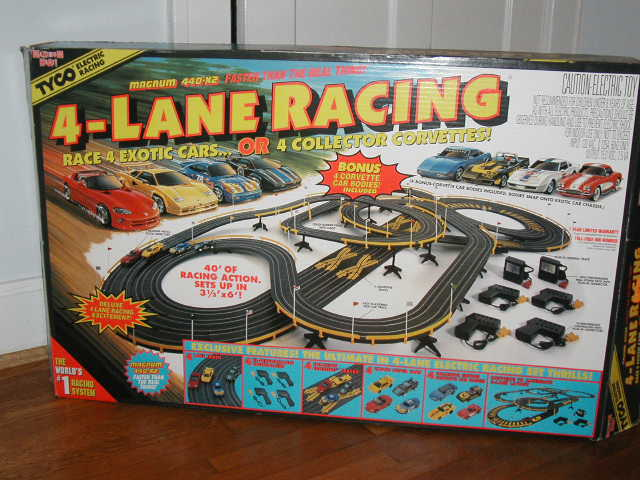 Tyco Slot Cars: Tyco Slot Car Voiture Circuit Routier